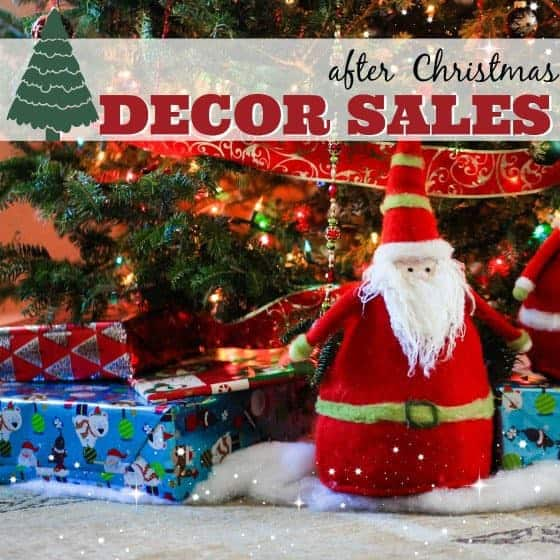 After Christmas Sales - Our Favorite Decor Items - Daily Mom - christmas decor on sale