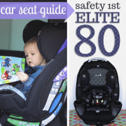 Car Seat Guide Safety 1st Elite 80