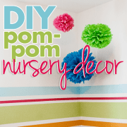 DIY Pom-Pom Nursery Decor 2