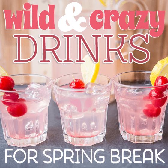 Spring Break Drink Recipes