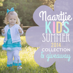 Naartjie Kids Summer 2014 Collection and Giveaway