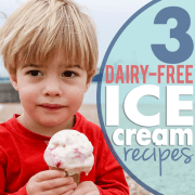 3 Dairy Free Ice Cream Recipes