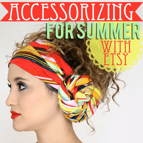 Accessorizing for Summer with Etsy
