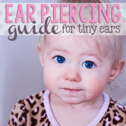 Ear Piercing Guide for Tiny Ears
