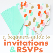 A Beginners Guide to Manners Invitations & RSVPs