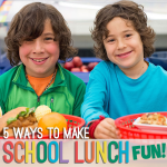 5 Ways to Make School Lunch Fun! OPTION ONE (1)