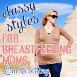 Classy Styles for BFing Moms Lilac Clothing