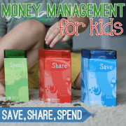 Money Management for Kids Save Share Spend