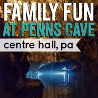 Family Fun at Penn's Cave, Centre Hall, Pa