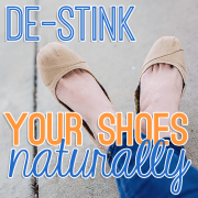 De-stink your shoes naturally
