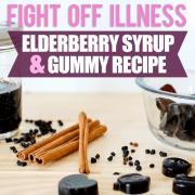 Fight Off Illness- Elderberry Syrup  Gummy Bear Treats2