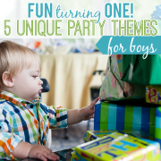 Fun Turning One  5 Unique Party Themes for Boys