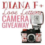 Diana F Love Letters Camera Giveaway