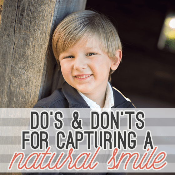 Dos and Donts for Capturing a Natural Smile Pin 1