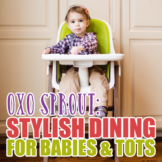 OXO Sprout Stylish dining for babies and tots