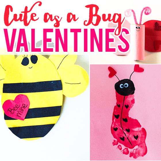 cute as a bug valentines