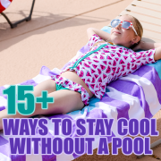 15 ways to stay cool without a pool