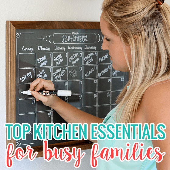 Top Kitchen Essentials for Busy Families
