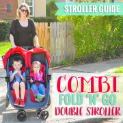 Combi Fold N Go Double Stroller Pin Image