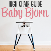High Chair Guide Baby Bjorn