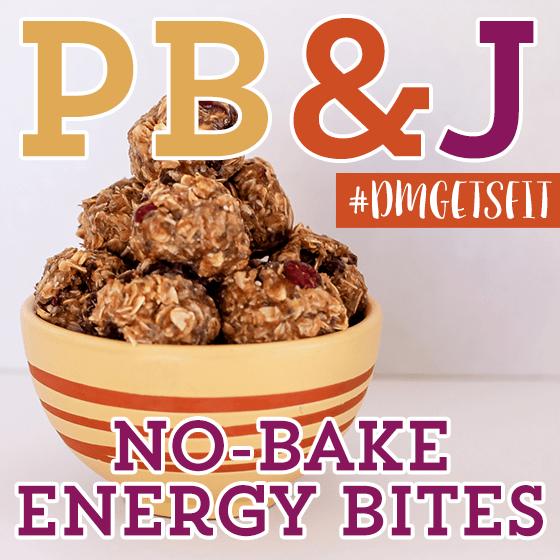 PB  J No Bake Energy BItes