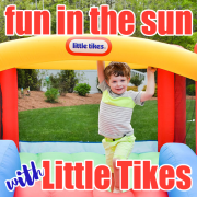 Fun in the sun with Little Tikes