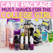 Care Package Must Haves for The College Girl