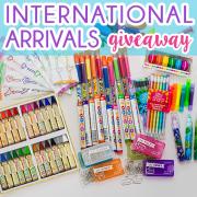 International Arrival Giveaway 2