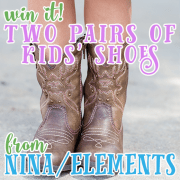 Win It Two Pairs of Kids Shoes from Nina ELEMENTS 3