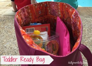 Toddler Summer Ready Bag