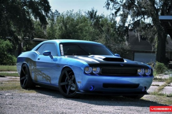 Muscle Cars Burnout Wallpapers Baby Blue Dodge Challenger By Advanced Automotive Concepts