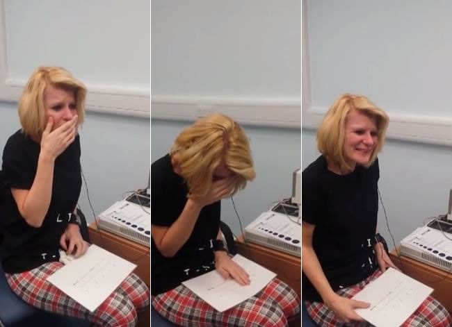 Watch A Deaf Hearing Impaired Woman Hear Sounds For Fist Time Ever