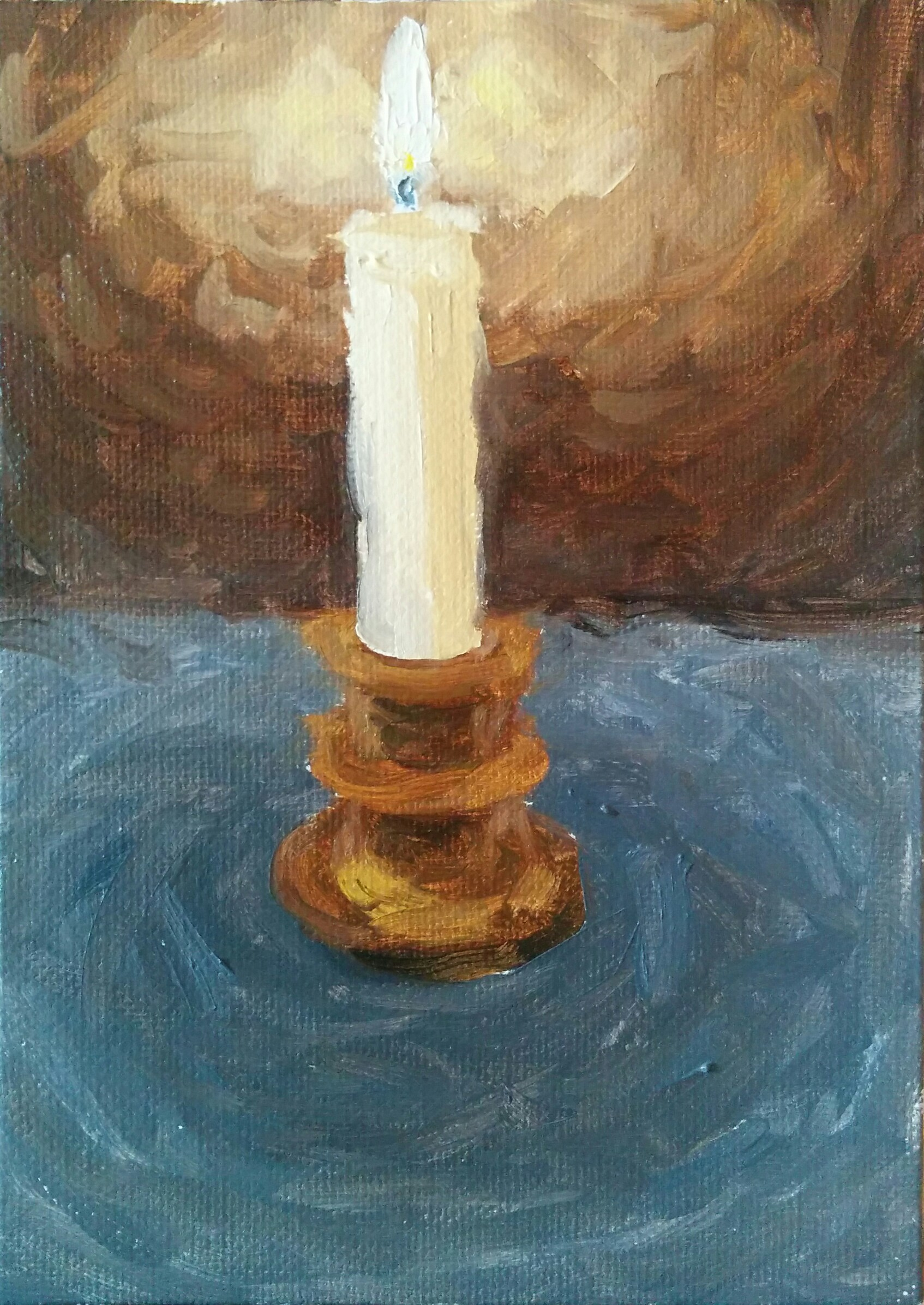 Candle Light Painting Candle Light 2 Andrew S Oil Painting Challenge