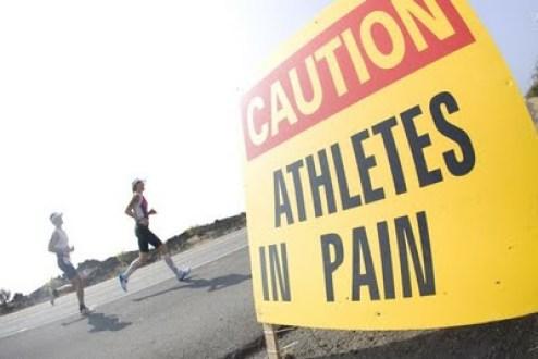atleta olimpico, athletes in pain, dolori