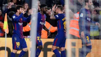 Barcelona vs Alaves: Messi nets winner as Valverde's men remain 11 points clear - Daily Post Nigeria