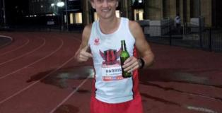 Josh Harris Beer Mile World Record holder