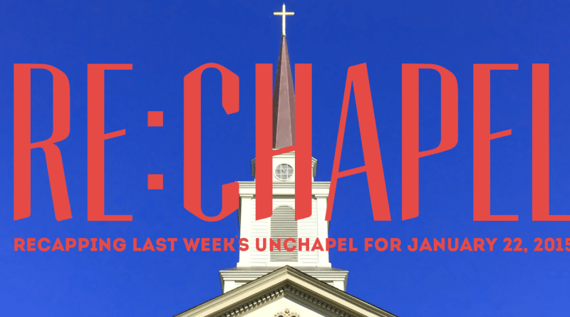 RECHAPEL Week 2