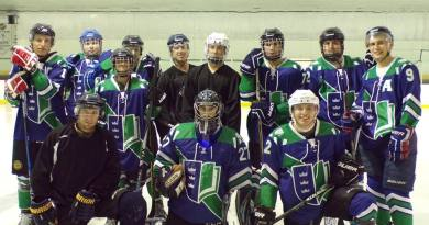 The Hockey Team's Facebook cover photo. March 2018. (Regent Ice Hockey on Facebook)