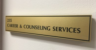 Career Services is located in room 235 on the second floor of the Student Center. Virginia Beach, VA. December 2017. (Shelly Slocum)