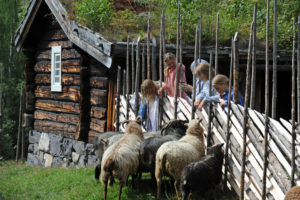 Norway's largest open-air museum outside of Oslo