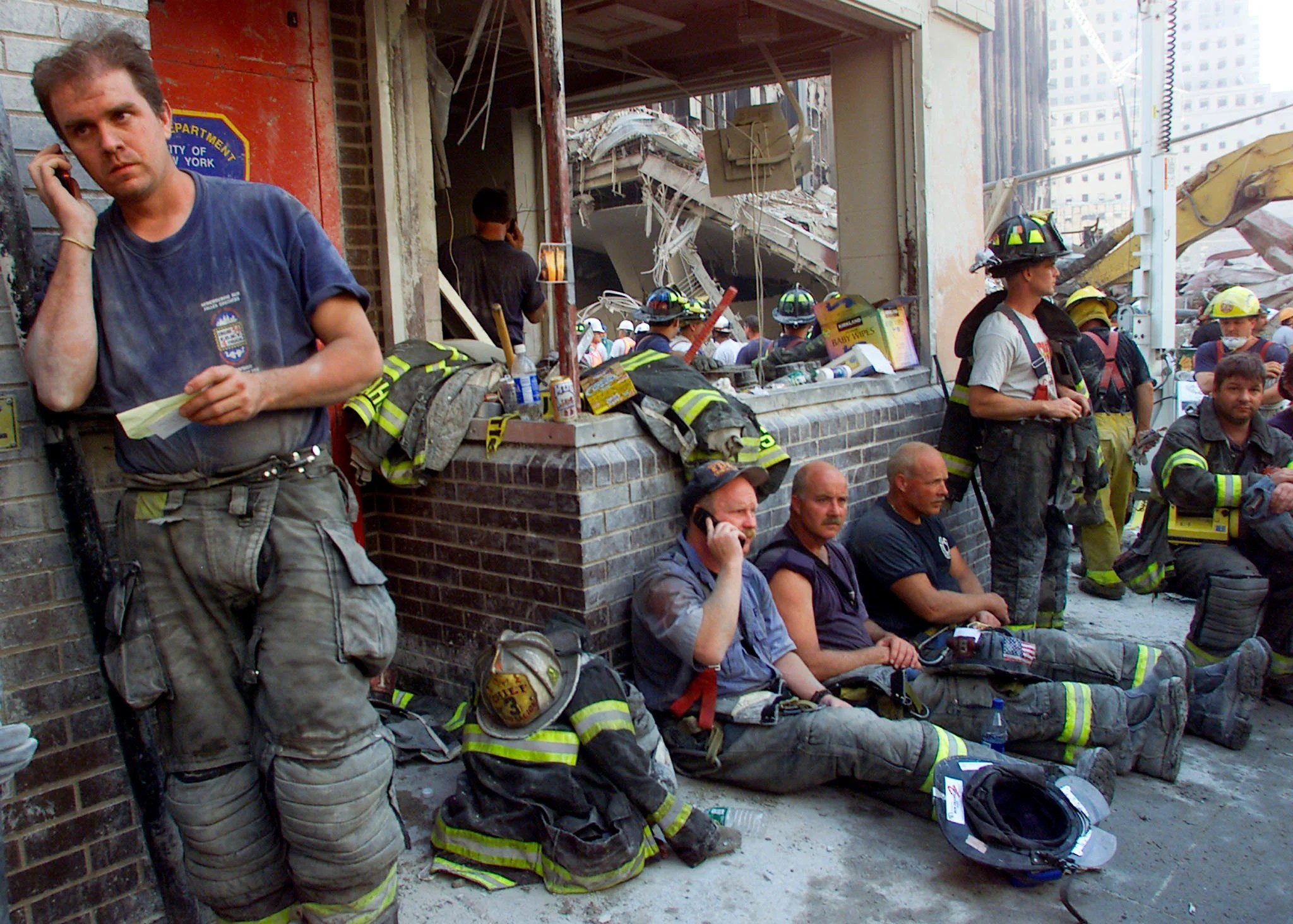 Placca Brain 22 Photos Of September 11 And The Days After