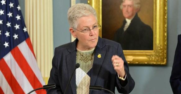 EPA Administrator Gina McCarthy. (Photo: State Department/Sipa USA/Newscom)