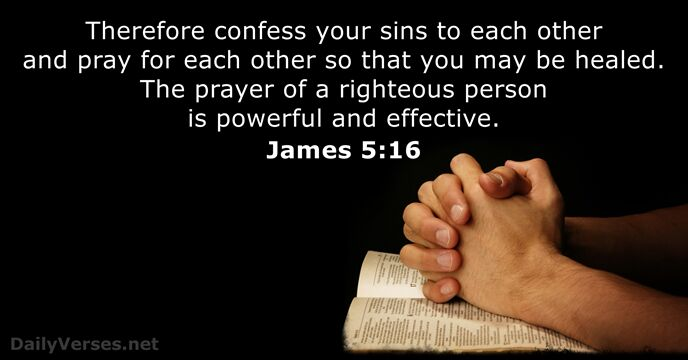 Girl Wallpaper Free Down James 5 16 Bible Verse Of The Day Dailyverses Net