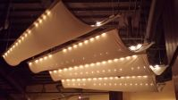 Fabric Ceiling at AZN Azian Cuizine - The Dairy Free ...