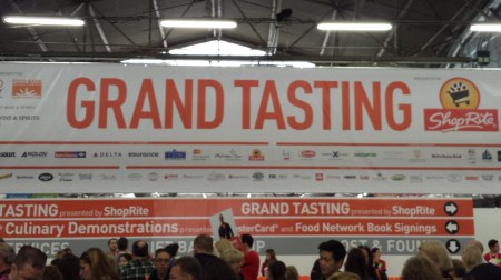 New York Wine & Food Festival Grand Tasting 2014