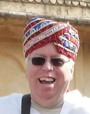 Me Wearing My Maharaja's Turban