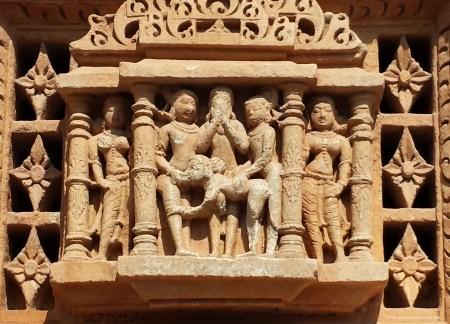 Naughty Carving at Sas-Bahu