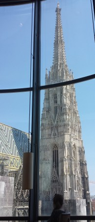 Stephansdom Spire from the Onyx Bar