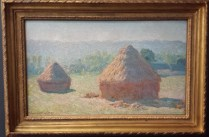 Hay Bales, End of Summer by Claude Monet