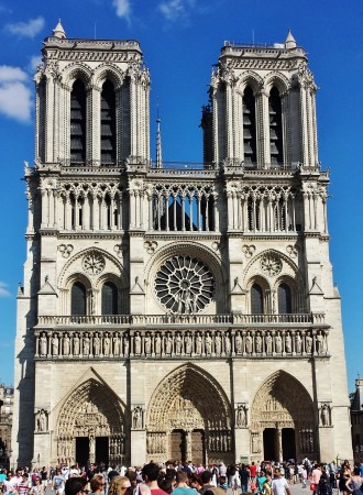 Notre Dame and Sainte Chappelle on Faith's First Day in Paris